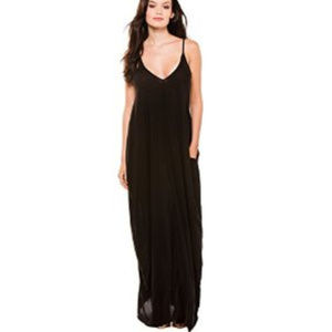 Elan International Spaghetti strap cover up Dress